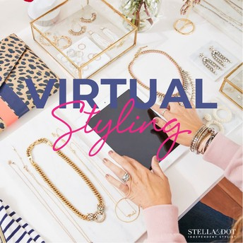 TONIGHT: JOIN OUR VIRTUAL STYLING CONVERSATION! - 8pm ET / 7pm CT / 5pm PT