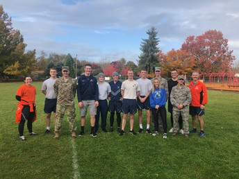 OSU Air Force ROTC Joined the Autumn Amble!