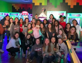 Girls Basketball Team Building!