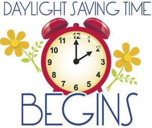 Daylight Savings - Spring Ahead