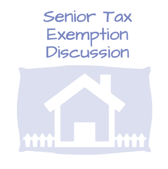 Senior Homestead Exemption