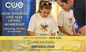 Join CUE for free!