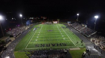 View of the game from a CCPS Drone