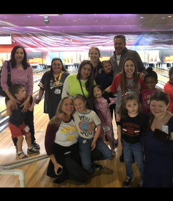 Mrs. Kruger's class loves Bowling!
