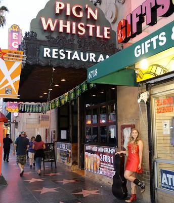 Pig N Whistle Hollywood Blvd