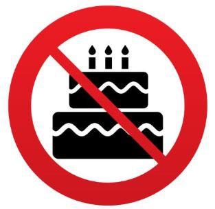 No Birthday Treats