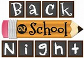 Tuesday, September 17th from 5:00 to 6:30 pm. We welcome our Robinson Parents to our 2019-2020 Back to School Night Event.
