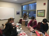 BIONIC Team gift wrapping