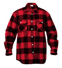 Wear Flannel on Monday.