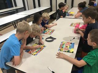 Students enjoy Greg Tang math games