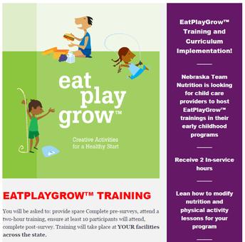 Nebraska Team Nutrition Smore Newsletters For Education