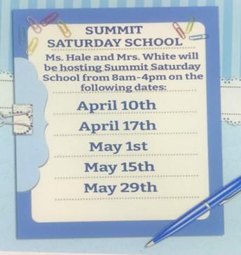 7th-grade Summit Saturday School