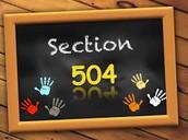 504 Plans...