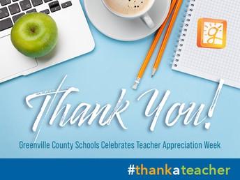 Thank You - FAC Spirit Week and Staff Appreciation Week!