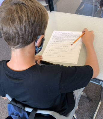 3rd Grade Writing- Using Quotations and Punctuation