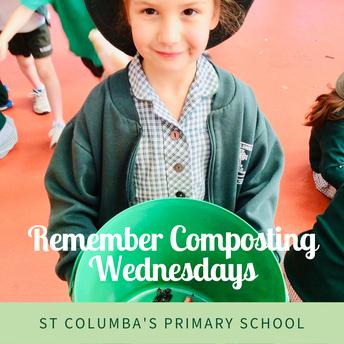 Remember Composting Wednesdays