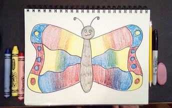 Color Wheel Butterflies Kindergarten