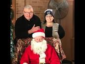 Santa is heading to Lower Mills!