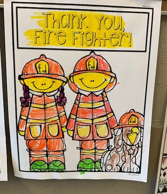 Thank You Fire Fighter!