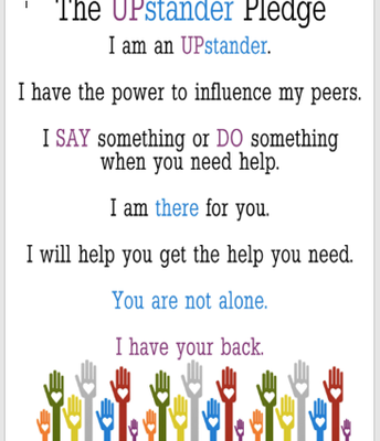 Upstander Pledge