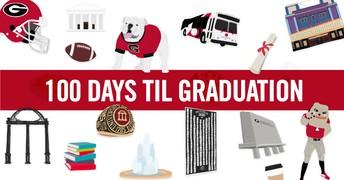 100 Days 'til Graduation Scavenger Hunt