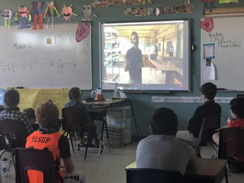February 24th - Virtual 4th Grade Trip