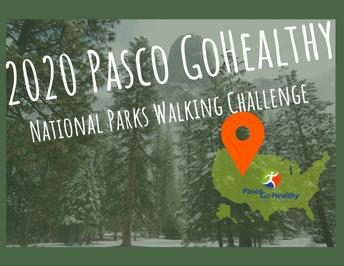 Pasco Go Healthy Walking Challenge 2020