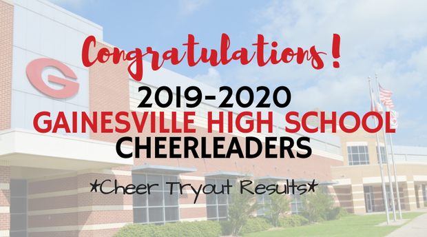 cheer tryout results