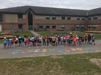 3rd Graders enjoying some fun!