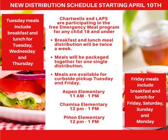 Los Alamos Public Schools' Free Meal Program