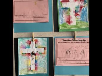 1/2L Lenten art and writing