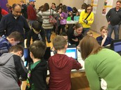 "Davis Elementary School Hosts an ""Excellent""  Math Family Engagement Night"