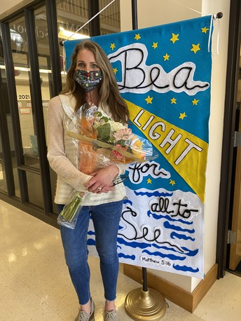 Congratulations to Mrs. Schwing - Our Teacher of the Year!