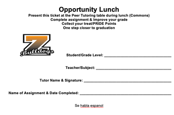 Fill out your ticket today!