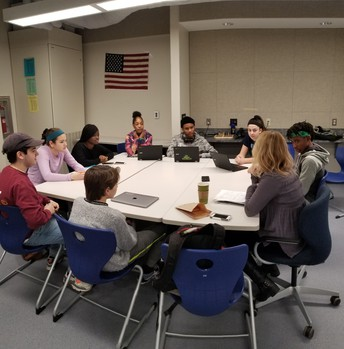 PBL Students Meet with Health Professionals
