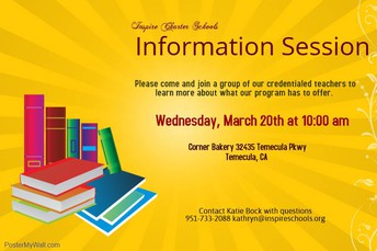 Temecula Info Session!