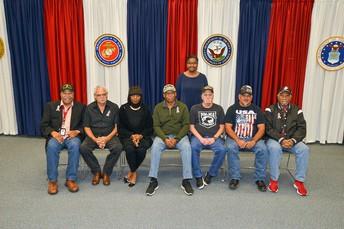 Veteranos del Cuerpo de Marines