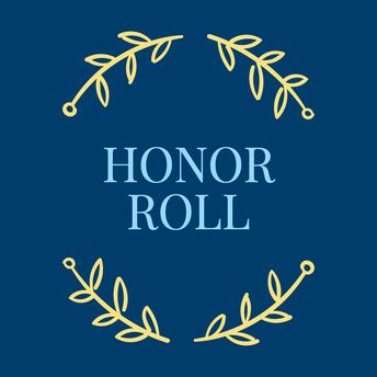 FIRST SEMESTER HONOR ROLLS