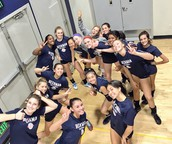 Girls Volleyball Finishes 3rd