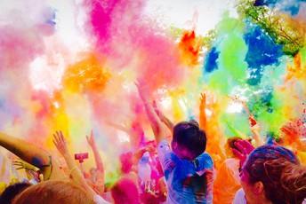 Copeland Color Run-Spring FUNdraiser by Amanda Ball