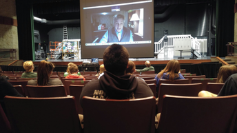 Theatre Cast Meets with Professional Composer/Playwright