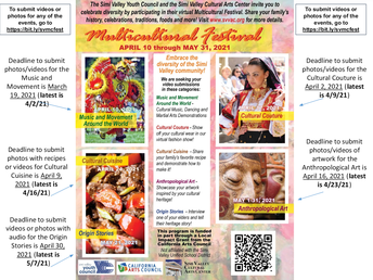 Simi Valley Youth Council Multicultural Festival