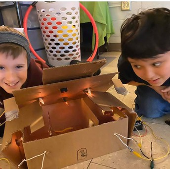Inspired Engineers at Simpsonville Elementary