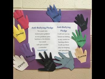 Bilingual Anti-Bullying Pledge