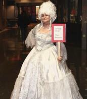 Inaugural Teacher Costume Contest...