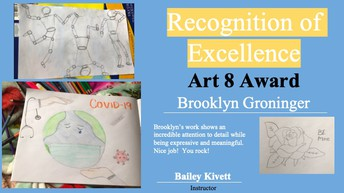 Recognition of Excellence Art 8 Award