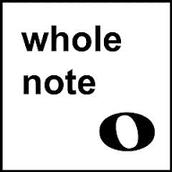 whole note = Redonda
