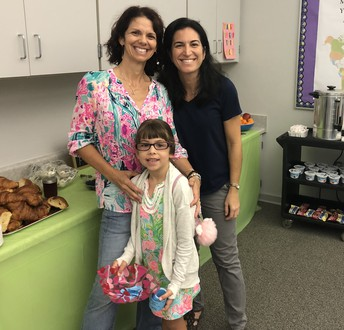 """Thank you, PTA, for hosting a """"Welcome Back"""" breakfast!"""
