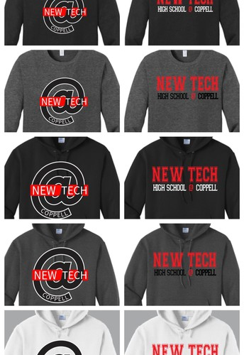 Oh What Fun It Is To Wear New Tech Spirit Wear!