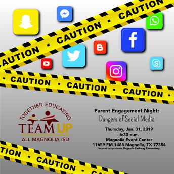 TEAM UP Parent Engagement Night: Dangers of Social Media